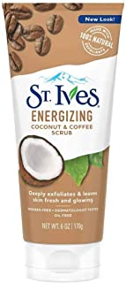 St. Ives Energizing Coconut & Coffee scrub - 6oz