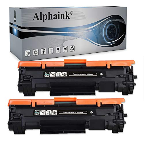 Alphaink 2 Toner Compatibili per HP CF244A LaserJet Pro M15 M15a M15w M28a MFP M28a M28w MFP M28w M17a M17w