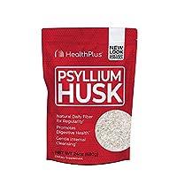 Health Plus Inc., 100% Pure Psyllium Husk, 24 oz (680 g)