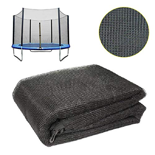 Upper Bounce Trampoline Replacement Safety Nets Enclosure Surround Netting Fits Most Round Trampolines Net Only,8FT for 6 poles trampoline