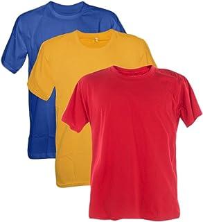 Kit 3 Camisetas Poliester 30.1