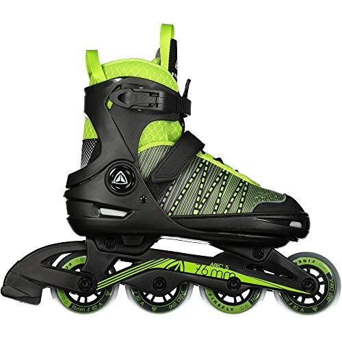 Firefly Unisex-Kinder Ils 610 B Skateboardschuhe, Schwarz (Black/Green Lime 900), 37 EU