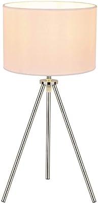 Lámpara de mesa FENDA de lámparas de pie, de cromo, sin ...