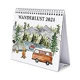 ERIK - Calendario de Escritorio 2021 Wanderlust, 17x20 cm