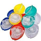 Soviton First Aid - Máscara de rescate de rescate de RCP, color aleatorio