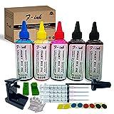 F-ink Bouteilles 5x100ml Kits de Recharge d'encre et d'encre...