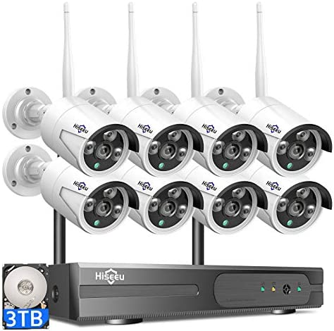Top 10 Best wireless security camera system with dvr Reviews