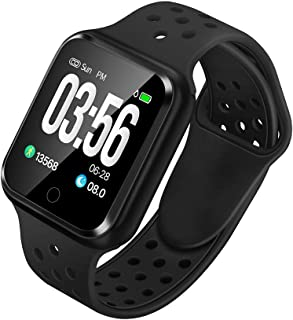WAFA Fitness Tracker with Heart Rate Blood Pressure Monitor, Waterproof Fitness Watch, Bluetooth Smart Watch with Sleep Sports Data Monitor GPS Activity Tracker Pedometer Watch for Kids Women Men