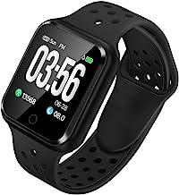 WAFA Fitness Tracker with Heart Rate Blood Pressure Monitor, Waterproof Fitness Watch, Bluetooth Smart Watch with Sleep Sports Data Monitor GPS Activity Tracker Pedometer Watch for Kids Women Men