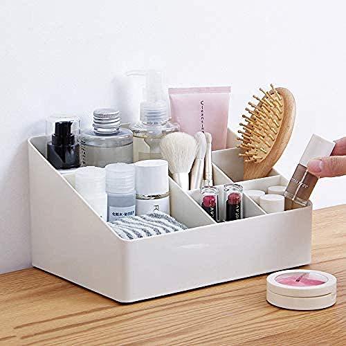 Caja de almacenamiento changshuo, organizador de maquillaje, caja de almacenamiento para pinceles de maquillaje de escritorio, organizador de cosméticos, caja para el cuidado de la piel, contenedor