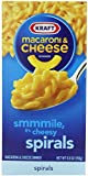 Kraft Macaroni & Cheese Dinner, Spirals, 5.5 oz (Pack of 12)
