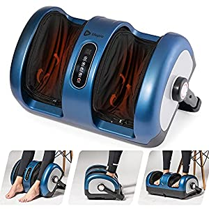 Lifepro Foot and Calf Massager – Shiatsu Foot Massager for Foot Pain Relief, Foot Massager Machine for Heat Therapy…