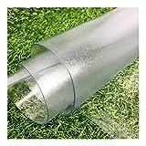 AYLYHD PVC Trasparente Sottopiatto Protezione Pavimento Tappeto Plastica Libera-Wash Resistente All'abrasione per Cucina Mobile TV Tappeto Piastrelle, Personalizzabile (Color : 3mm, Size : 90x150cm)