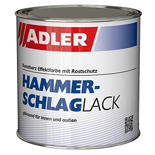 Hammerschlaglack - 750ml Blau 52
