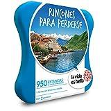 LA VIDA ES BELLA - Caja Regalo - RINCONES PARA PERDERSE - 950 hoteles 4*,...