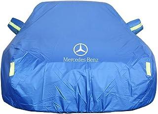 Autoabdeckung Mercedes Benz ML350 Sport Utility Car Cover Spezielle Autoplanenabdeckung Regenfest Sonnencreme Verdickung Isolierung Autoabdeckung (Farbe : Blau)