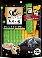 (まとめ買い)マースジャパン シーバ とろ~り メルティ とりささみ味セレクション 12g×20P 猫用 【×5】