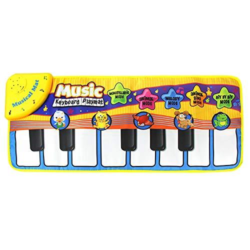 Alfombrilla de piano para niños, multifunción, manta de música eléctrica, alfombrilla musical,...