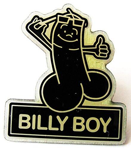 Billy Boy - Kondome - Pin 28 x 24 mm