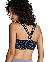 Colwelt Strappy Sports Bra for Women, Wirefree Crisscross Back Support Yoga Bra