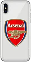 Mirage Cases Soccer Team Club Protective Thin Transparent Case Compatible with iPhone XR (Style 22, for iPhone XR)