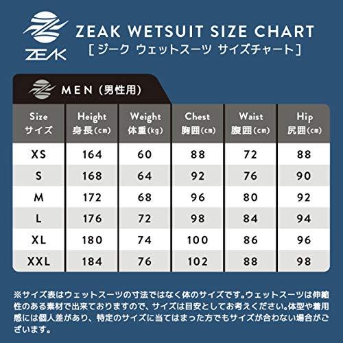 ZEAK(ジーク)ウェットスーツメンズスプリングウエットスーツXLサイズ