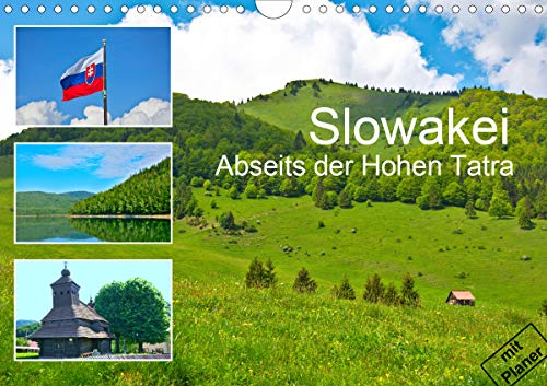 Slowakei - Abseits der Hohen Tatra (Wandkalender 2021 DIN A4 quer)