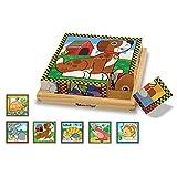 Melissa & Doug - Pets Quebra - Cabeça de 16 Cubos , 3+ Anos, Multicolorido, 3771