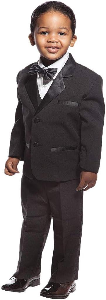 P&G Boys' Suits Formal Suit Classic Fit Wedding Party Tuxedo Set