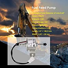 Dc12V Electronic Fuel Pump Fuel Feed Pump 129612-52100 For Yanmar Excavator