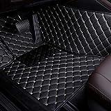 GLLXPZ Alfombrillas de Coche Personalizadas, para BMW Serie 5 E34 E39 E60 E61 F07 GT F10 F11 F18 2013-2020, Alfombrillas Antideslizantes con Revestimiento Completo