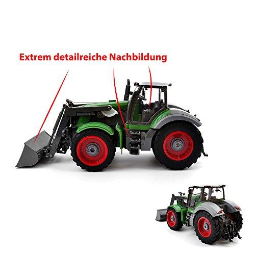 RC Auto kaufen Traktor Bild 4: Riesenr XXL RC ferngesteuerter Traktor mit Anhänger Trecker*