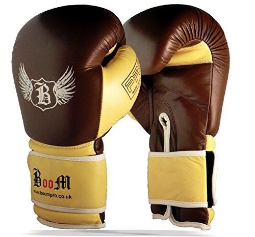 Boom Puro Cuoio da Boxe Sparring MMA Sacco (Free UK Shipping)