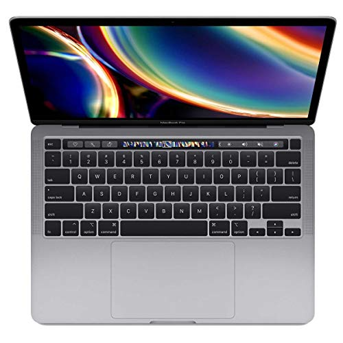 Apple 13' MacBook Pro with Touch Bar, 10th-Generation Quad-Core Intel Core i7 2.3GHz, 32GB RAM, 512GB SSD, Space Gray (Mid 2020)