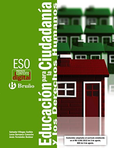ContextoDigital Educación para la ciudadanía y los Derechos Humanos ESO: Edición 2012