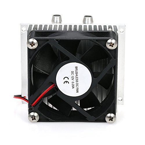 KKmoon DIY Refrigeration Semiconductor Kit 12V Wassergekühlte Klimaanlage Elektronischer Kühler CPU Wasserkopf