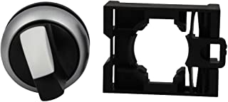 EATON MOELLER M22-WRK/K10 Rotary Switch, 2 Position, 1 Pole, 60 ¡ã, M22 Series