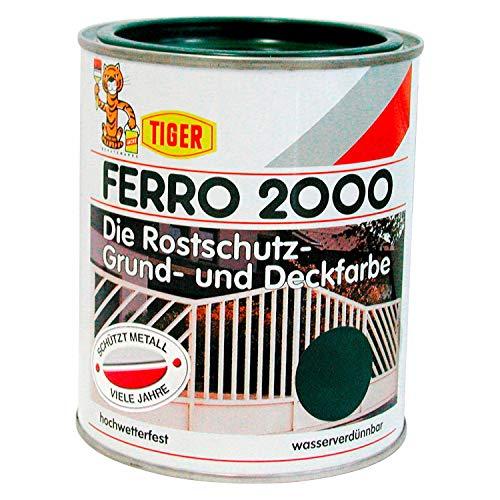Tiger Ferro 2000 roestwerende grondverf zijdeglans buiten 2,5 l kleurkeuze Ral 9010 zuiver wit