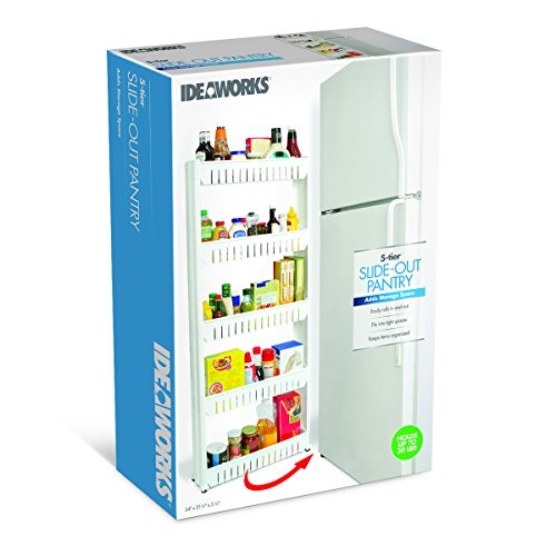 IdeaWorks Slim Slide Out Pantry - 5 Tier