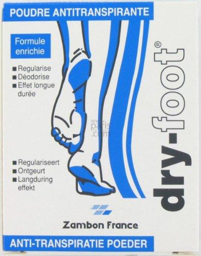 DRY FOOT Poudre antitranspirante - 10 sachets