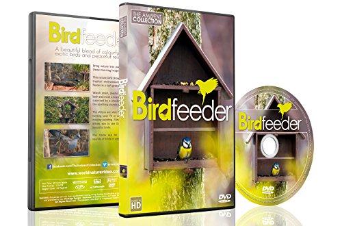 Natur DVD – Vogelfutterhaus und Vogelbad – Mit Musik oder Naturgeräuschen 2016