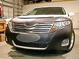 Lebra 2 piece Front End Cover Black - Car Mask Bra - Fits - Toyota Venza LE, XLE & Limited 2013-2014