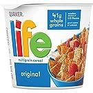 Life Breakfast Cereal, Original, 2.29oz Individual Cups, (12 Pack)