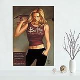 Yiwuyishi Impresión de póster de Pared de Pintura de Lienzo de Buffy Personalizada, póster de Bricolaje, Sala de Estar y cafetería, decoración de Bar, 50x70 cm P-934