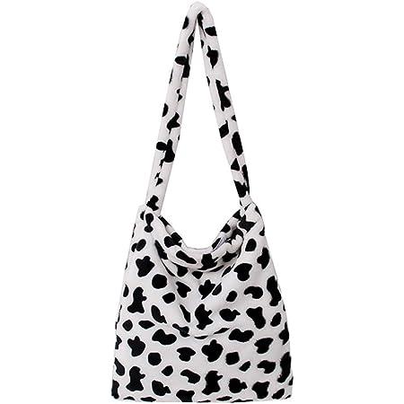 KANUBI Y2k bag,Umhängetaschen, Plüschhandtaschen, Handtaschen, Clutches, flauschige Handtaschen, Unterarmbrieftaschen, Umhängetaschen, modische Plüsch-Damen-Umhängetaschen mit Tiermotiv