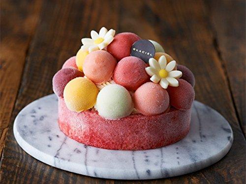 グラッシェルアイスケーキ『バルーンドフリュイ』~人気No1!メッセージ入りのチョコプレートを添えて~
