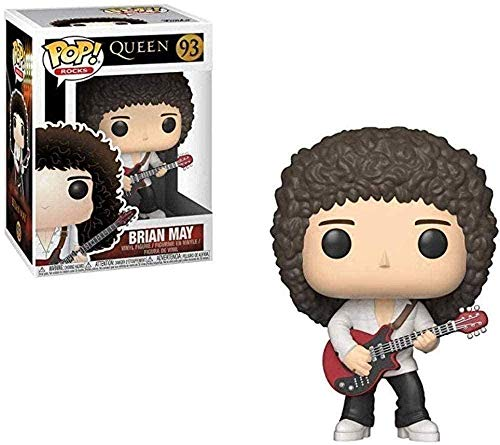 ZSDD Pop Rocks: Queen Brian Harold May 1986 Wembley Landscape Decoration Adornos Resina Crafts Doll Collection