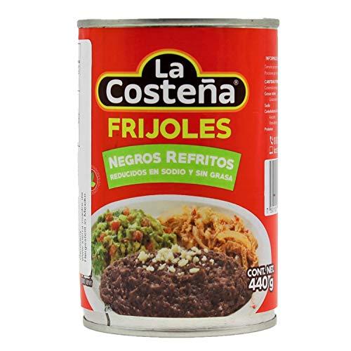 La Costeña Frijoles Negros Refritos schwarzes Bohnenmus 440g