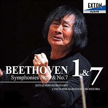 Beethoven: Symphony No. 1 & No. 7