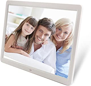 15 inch HD Touch Sn Digital Photo Frame MP3 MP4 Movie Player Alarm Photo Frames Photo Digital Photos Frames,Black